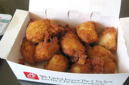 Fast Food Bbq Chicken Sandwich