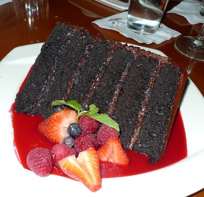 Pf Chang S Great Wall Of Chocolate Cake Calories